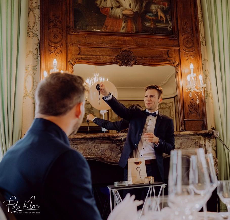 Zauberkünstler Hochzeit buchen